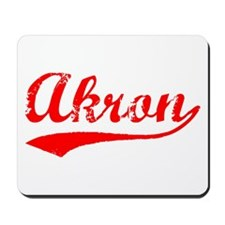 Vintage Akron (Red) Mousepad