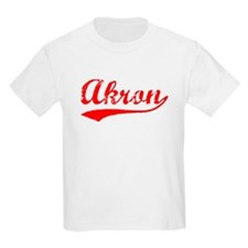 Vintage Akron (Red) T-Shirt