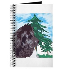 Newf with trees Journal