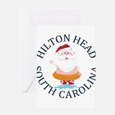 Summer hilton head- south carolina Greeting Cards