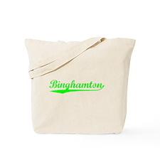 Vintage Binghamton (Green) Tote Bag