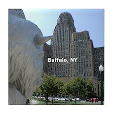 """""""Buffalo, NY"""" Tile Coaster"""