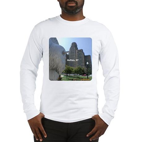 """""""Buffalo, NY"""" Long Sleeve T-Shirt"""