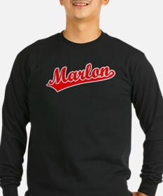 Retro Marlon (Red) T