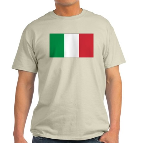 Italian Flag Light T-Shirt