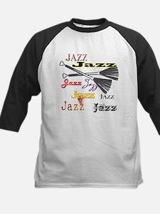 Jazz Brushes Kids Baseball Jersey