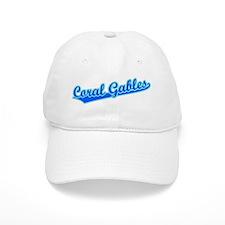 Retro Coral Gables (Blue) Baseball Cap