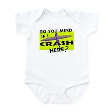 Crash Here? Infant Bodysuit