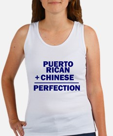 Puerto Rican + Chinese Women's Tank Top
