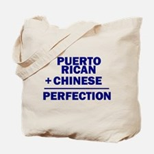 Puerto Rican + Chinese Tote Bag