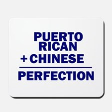 Puerto Rican + Chinese Mousepad