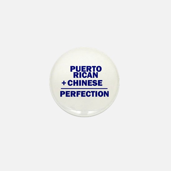 Puerto Rican + Chinese Mini Button