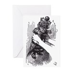 Red Queen Greeting Cards (Pk of 10)