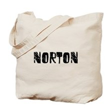 Norton Faded (Black) Tote Bag