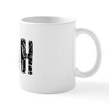 Nyah Faded (Black) Mug