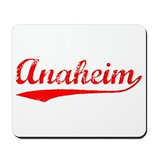 Vintage Anaheim (Red) Mousepad
