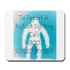 Bigfoot Sighting Mousepad