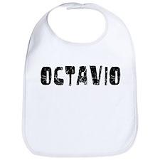 Octavio Faded (Black) Bib