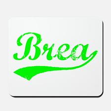 Vintage Brea (Green) Mousepad