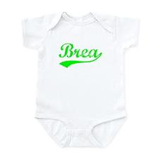 Vintage Brea (Green) Infant Bodysuit
