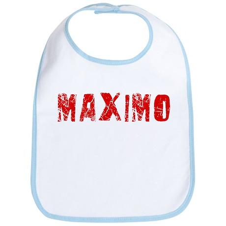 Maximo Faded (Red) Bib