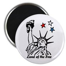 """LAND OF THE FREE! 2.25"""" Magnet (10 pack)"""