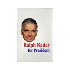Ralph Nader for Pres. Rectangle Magnet