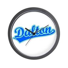 Retro Dalton (Blue) Wall Clock