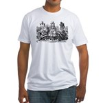 Talking Queens Fitted T-Shirt