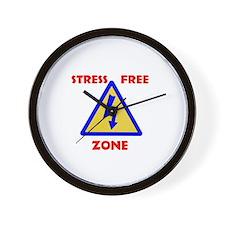 STRESS FREE Wall Clock