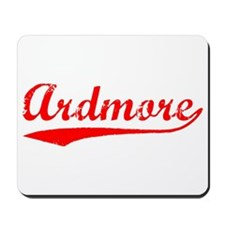 Vintage Ardmore (Red) Mousepad