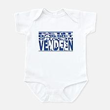Hidden PBGV Baby Bodysuit