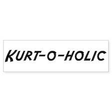 Kurt-o-holic Bumper Bumper Sticker