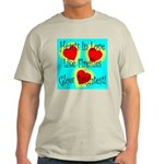 Firefly Hearts Ash Grey T-Shirt