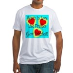 Firefly Hearts Fitted T-Shirt