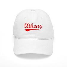 Vintage Athens (Red) Baseball Cap