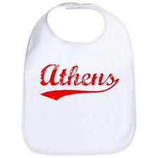 Vintage Athens (Red) Bib