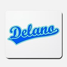Retro Delano (Blue) Mousepad