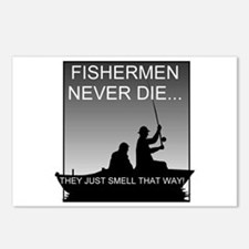 Fishing! Postcards (Package of 8)