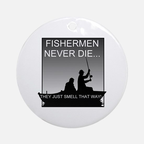 Fishing! Keepsake (Round)
