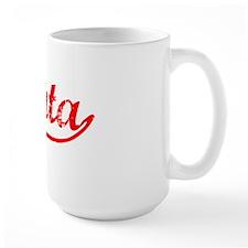 Vintage Atlanta (Red) Mug
