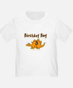 Birthday Boy 3 Dinosaur T
