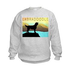 Labradoodle By The Sea Sweatshirt