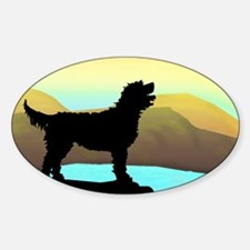 Labradoodle By The Sea Decal