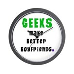 Geek Boyfriend Wall Clock