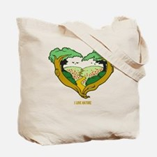 Nature Heart Tote Bag
