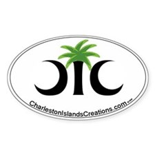 Charleston Islands Creations Oval Decal