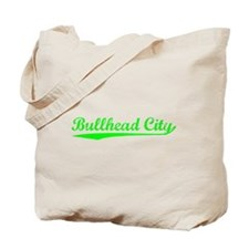 Vintage Bullhead C.. (Green) Tote Bag