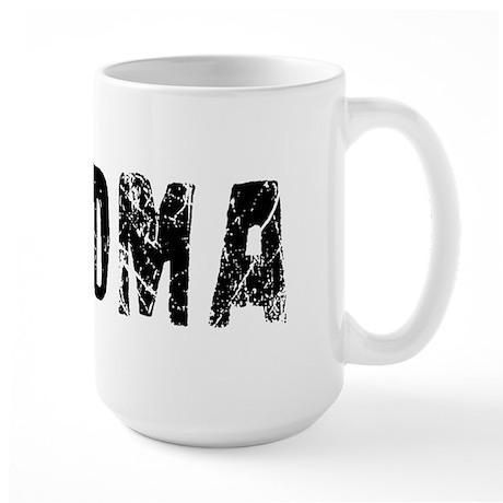 Paloma Faded (Black) Large Mug