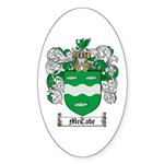 McCabe Family Crest Oval Sticker